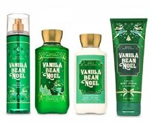 Bath and Body Works Vanilla Bean Noel 4 Piece Set - Lotion, Cream,  Gel, Mist