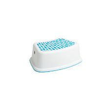 Step Stool Anti Slip Plastic Wham Children Bathroom Kitchen Nursery Toilet White