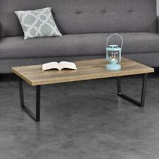 [en.casa]® Couchtisch 110x60x35cm Wohnzimmertisch Beistelltisch Holz-Optik MDF