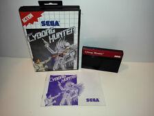 Cyborg Hunter für Sega Master System OVP