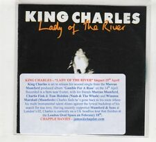 (HD351) King Charles, Lady Of The River  - 2015 DJ CD