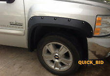 2007-2013 Chevrolet Silverado Crew Cab 5.8' Short Bed Pocket Style Fender Flares