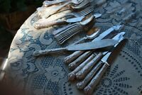 Flatware 31 Pieces of King's pattern Reed & Barton, Silver plate,Reed & Barton &