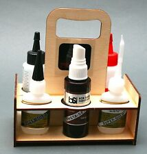 Grab & Glue Glue Caddy for 1/2 oz CA Bottles - North Coast Rocketry