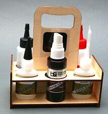 Grab & Glue Glue Caddy for 1/2 oz CA Bottles - North Coast Rocketry NCR