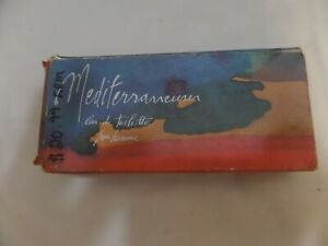 Mediterraneum Eau de Toilette Pour Homme EDT Men Splash 3.4 oz. Damaged Box