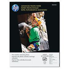 Hp Advanced Photo Paper 56 lbs. Glossy 5 x 7 60 Sheets/Pack Q8690A