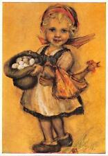 "vintage blank greeting cards  ARS SACRA Spötl ""children""2997"" 1950"