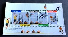 top mint block Netherlands Nederland 🇳🇱 1992 with 4 stamps Olympia - Sport