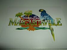JIMMY BUFFETT MARGARITAVILLE STICKER