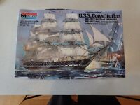 "New MONOGRAM 1:196 Model Ship USS Constitution Old Ironsides 16"" COMPLETE"