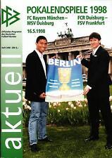 DFB-Pokalendspiel 1998 FC Bayern München - MSV Duisburg, 16.05.1998