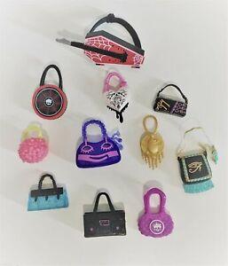 Monster High Bags Purses Satchels Suitcases Accessories Bundles VGC
