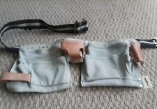"Sears #937528 Leather Hand Tool Belt Pouch NEW 38"" Waist or smaller"