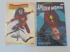 Spider Woman 1+2 Marvel Panini Cómics estado 1