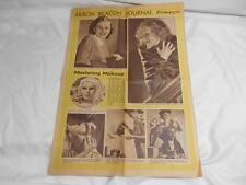 Old Vtg April 3 1949 AKRON BEACON JOURNAL ROTOMAGAZINE Newspaper Natlie Nims