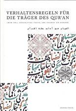 KORAN-Kopftuch-Verhaltensregeln für die Träger des Quran - Imam An-Nawawi