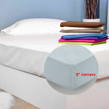 Polycotton Solid Traditional Fitted Sheets