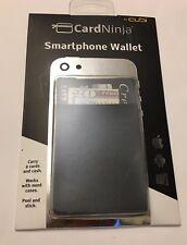 Original CardNinja Smartphone Flexible Wallet For Up To 8 Cards, Black