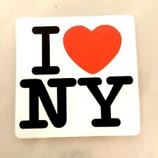 I love new york I love NY cute Sticker Decal Skateboard Guitar Vinyl Car Laptop