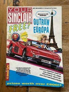 your sinclair magazine With Badge