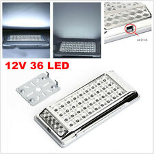 12V 36LED Car RV Interior Dome Light Indoor Roof Ceiling Lamp Energysaved Bright