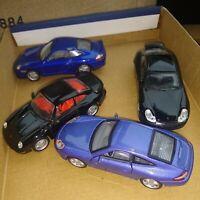 1/43 job lot of diecast Porsches. See pics