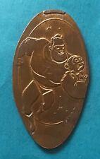 Disney Mr. Incredible Running Pixar Desk Lamp Logo Disneyland Dca Pressed Penny
