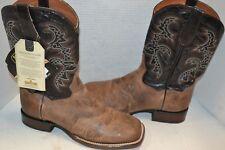 Dan Post Western Boots SZ 9 D,W Mens Franklin Cowboy Mad Cat Sand Black DP2815