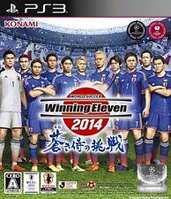 Used PS3 World Soccer Winning Eleven 2014 Aoki Samurai no Chousen Import Japan