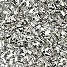 1500 PCS Silver Solder Chips Soldering Supplies for Jewelry Making 0.5x1x0.25mm