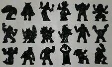 Monster In My Pocket PERU COMPLETE SET BLACK Halloween 2017 MIMP RARE Keshi