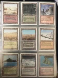 MTG- Revised Complete Set w/ All 10 Dual Lands - 306/306