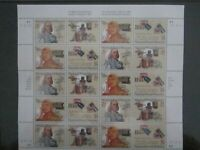 US Stamps - Sc# 2779 thru 2782 - National Postal Museum Sheet - MNH      (E-169)