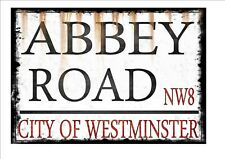 Abbey Road Reproduction Vintage Street Sign London Antique Style Street Sign