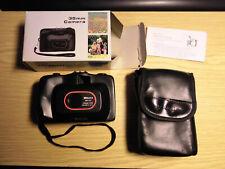 einfache Kleinbildkamera 35mm Kunststoffgehäuse OVP mit Tragetasche/Schutzhülle