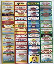 Children's Books Learn to Read Kindergarten First Grade Phonics Set Lot 60