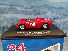 1/43 IXO FERRARI 250 P  #21 LE MANS winner 1963