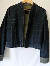 Le jean de MARITHE FRANCOIS GIRBAUD veste en jeans bleu F40 TBE