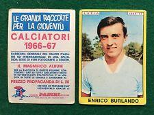 CALCIATORI 1966/67 66/1967 LAZIO Enrico BURLANDO Figurina Sticker Panini (NEW)