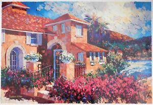 Barbara McCann 'Capri Sunset 1998', Limited Edition Serigraph Print 171/225