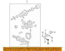 Saturn GM OEM 02-07 Vue Axle Differential-Rear-Mount Bolt 11515785