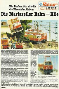 Produktinformation Roco Die Mariazeller Bahn HOe Nr.81431 ca.1989