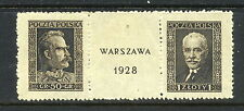 1928 Poland Polen Polska SC 251a-b | FI 235-236 MNH Philatelic Exhibition*