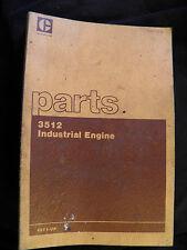 CAT Caterpillar 3512 INDUSTRIAL   ENGINE   PARTS BOOK  49Y1-UP