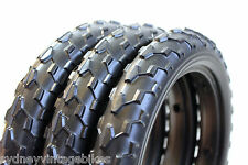 3 x SOLID FOAM TIRES PRAM SCOOTER BUGGY STROLLER Bicycle Tyre 12-1/2 x 2-1/4