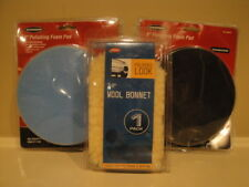 Buffer Pads and Wool Bonnets