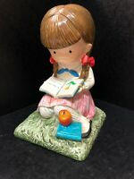 "Vintage Joan Walsh Anglund ""Emily""1972 Porcelain Figurine Made In Japan 6.5""Rare"