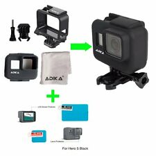 ADIKA The Frame Mount Housing Skeleton Case for Gopro Hero5 Black + Silicone for