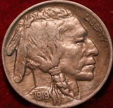 1919 Philadelphia Mint Buffalo Nickel